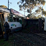 Tram and Truck Crash