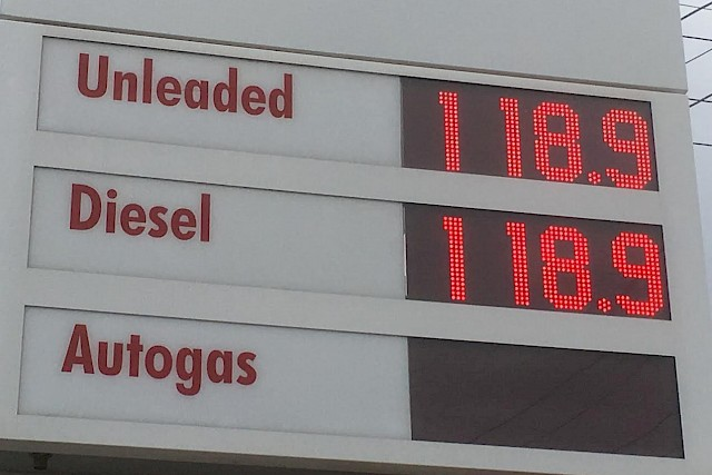 Petrol Prices Steady